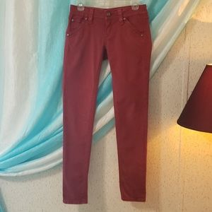 Rock Revival 27 Red Holly Skinny Jeans